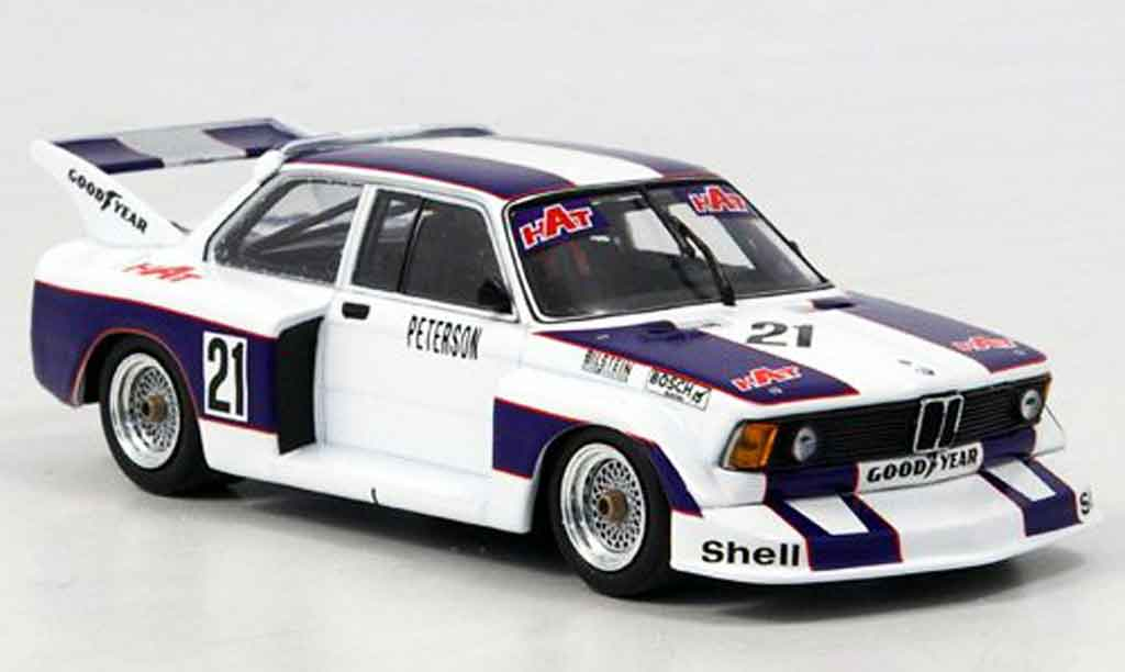 Bmw 320 E21 1/43 Minichamps i Gr.5 Peterson DRM 1977 WTCC miniature