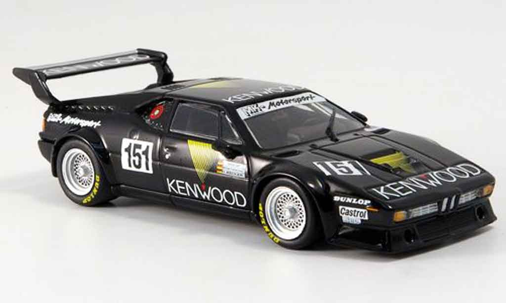 Bmw M1 1986 1/43 Minichamps MK Motorsport ADAC 1000km diecast model cars