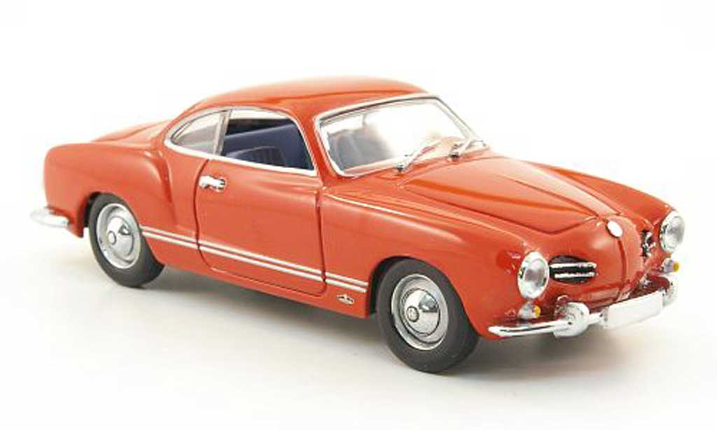 Volkswagen Karmann 1/43 Minichamps Ghia Coupe (Typ 14) red 1966 diecast