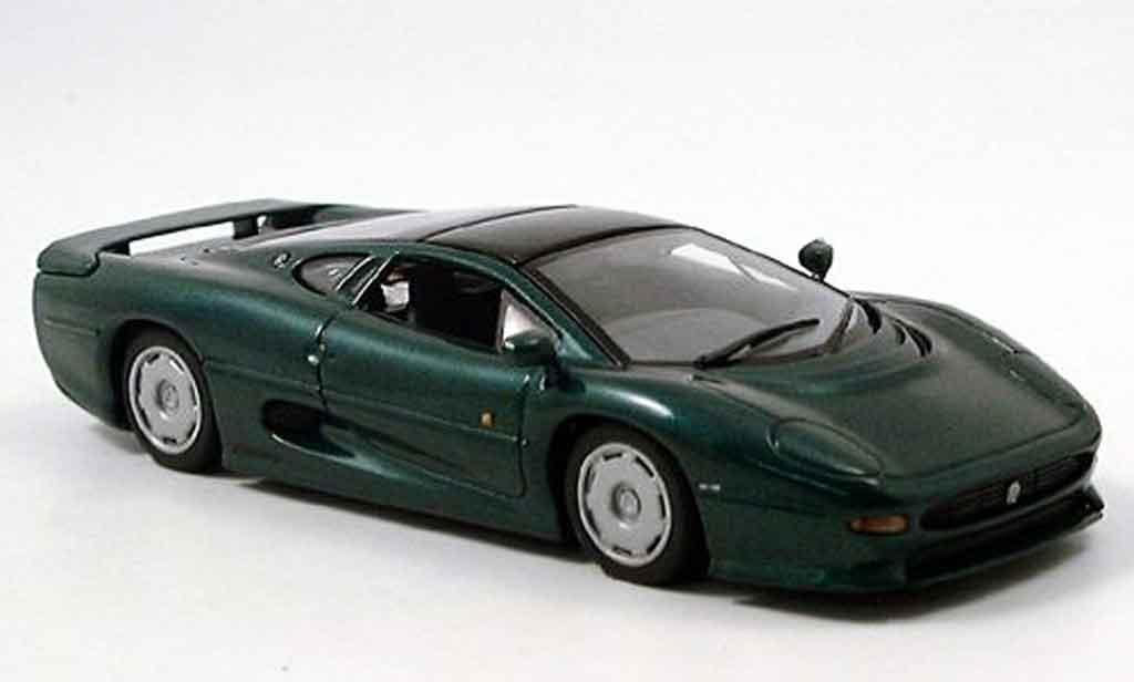 Jaguar XJ 220 1/43 Minichamps grun 1991 diecast model cars