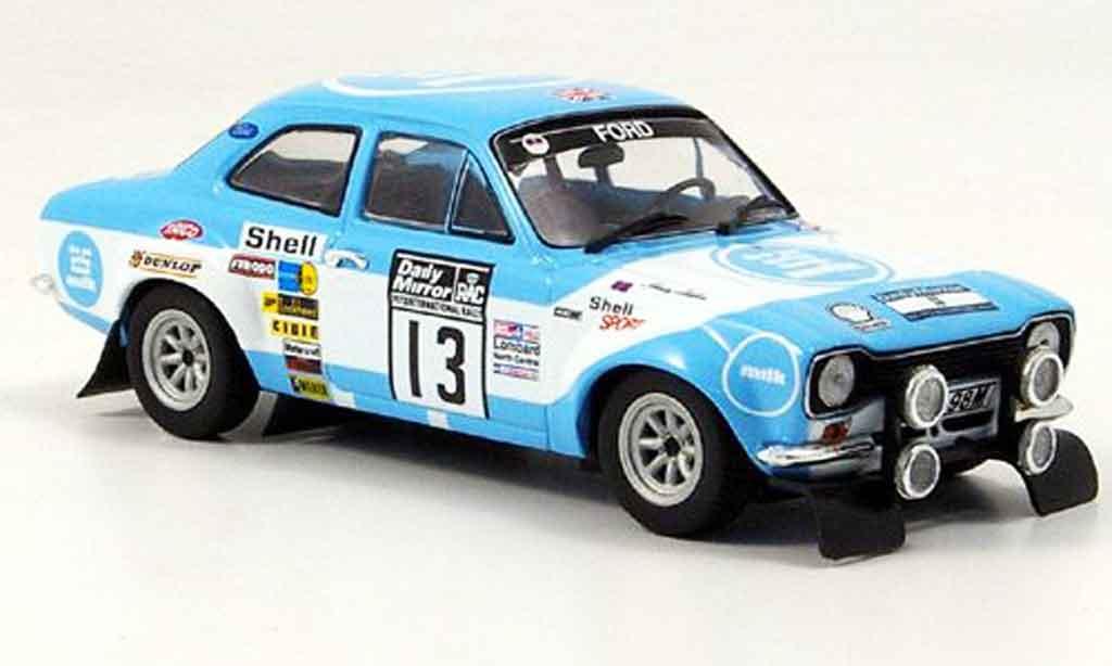 Ford Escort MK1 1/43 Minichamps I Makinen Liddon Sieger Rallye RAC 1973 miniature