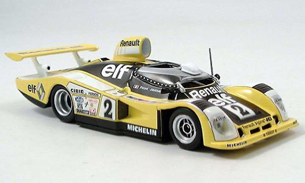 Alpine A442 1/43 Minichamps B No.2 Pironi / Jaussaud 24h Le Mans 1978 miniature