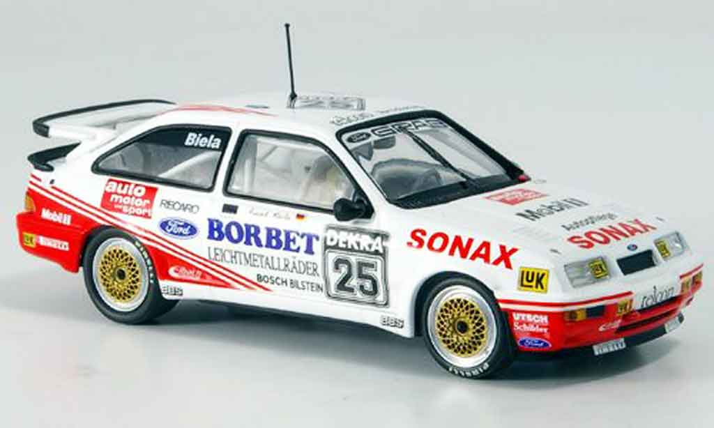 Ford Sierra Cosworth RS 1/43 Minichamps Sonax Biela DTM 1989 miniature