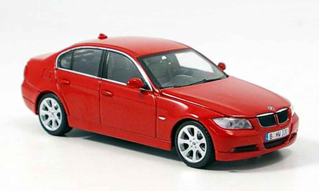 Bmw 335 E90 1/43 Minichamps Serie rouge 2005 miniature
