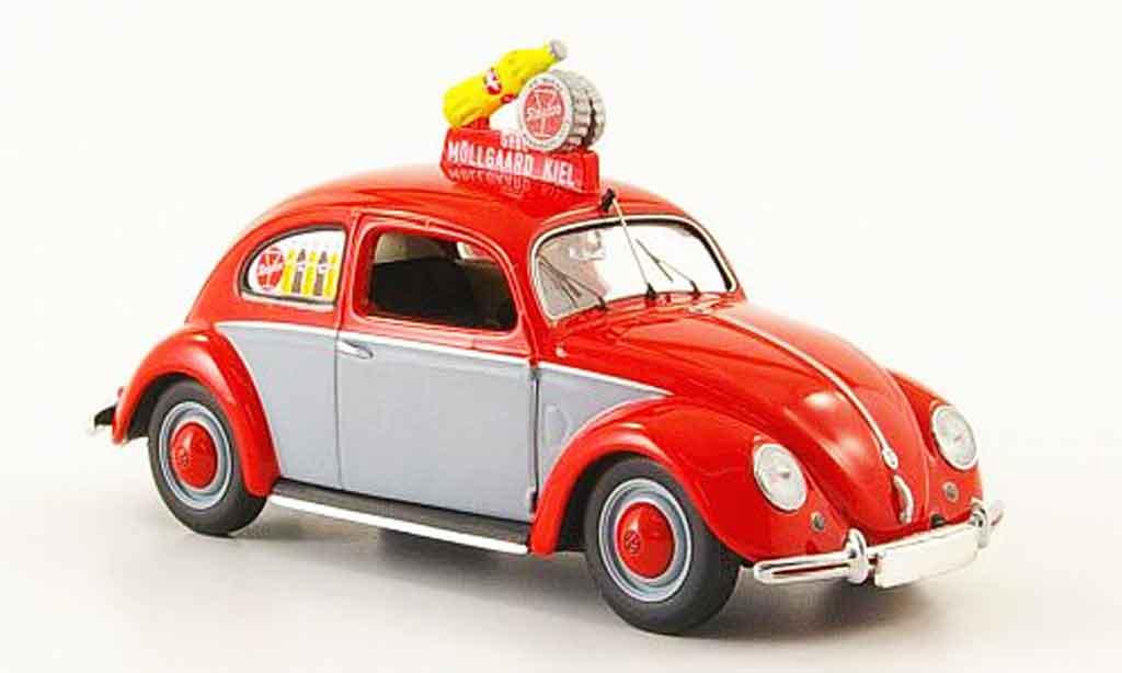Volkswagen Coccinelle 1/43 Minichamps 1200 sinalco 1951 diecast