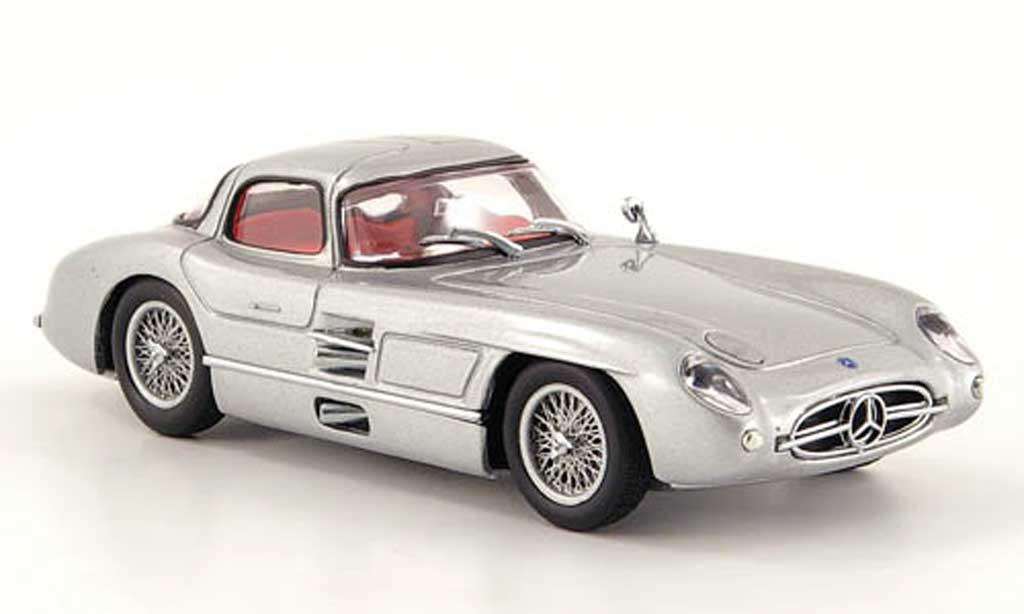 Mercedes 300 SLR 1/43 Minichamps Uhlenhaut Coupe grau  1955 modellautos