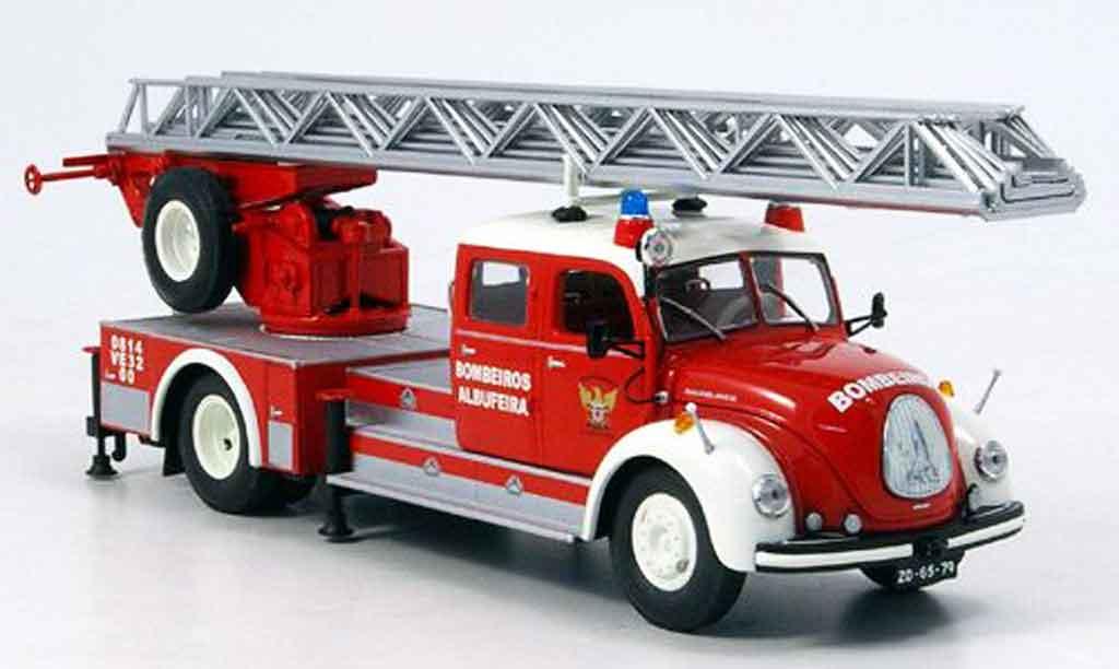 Magirus DL 30 1/43 Minichamps S 6500 pompier miniature