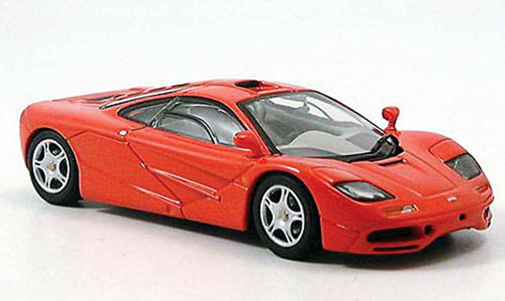 McLaren F1 1/43 Minichamps Mclaren Road Car rouge 1993 miniature