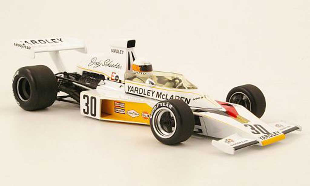 Ford F1 1973 1/18 Minichamps mclaren ford m23 no.30 yardley gp grande bretagne j.scheckter avec panneaux amovibles