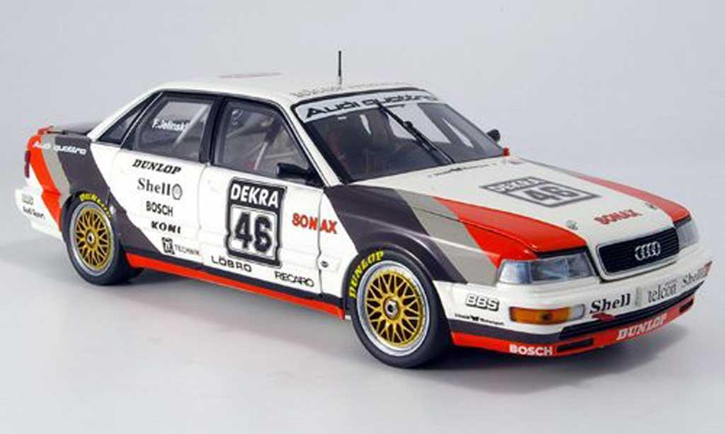 Audi V8 Quattro 1/18 Minichamps Quattro jelinski dtm 1990 miniature