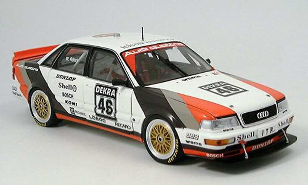 Audi V8 Quattro 1/18 Minichamps Quattro roehrl dtm 1991 miniature