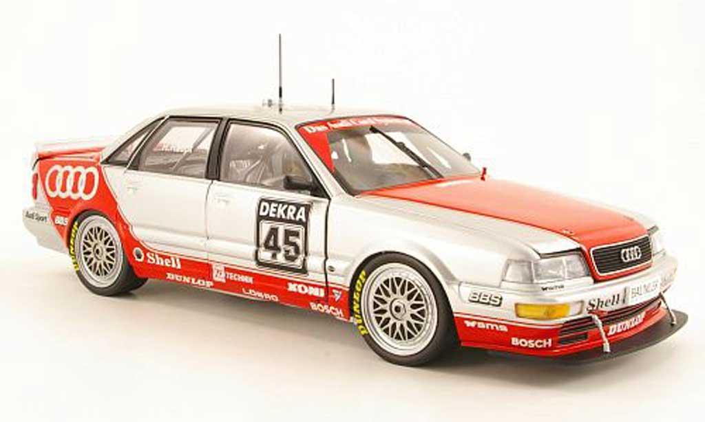 Audi V8 Quattro 1/18 Minichamps No.45 Team SMS Motorsport H.Haupt DTM-Saison 1992 diecast