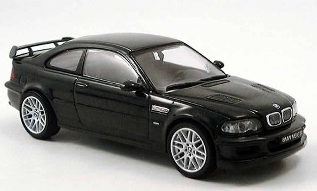 Bmw M3 E46 1/43 Kyosho GTR verte Strassenversion miniature
