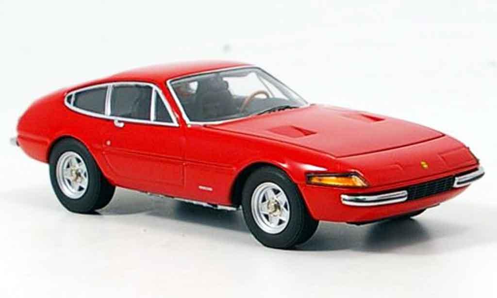 Ferrari 365 GTB/4 1/43 Kyosho rouge 1971 miniature