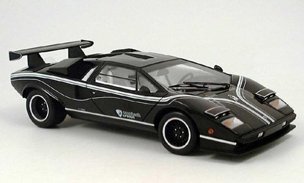 Lamborghini Countach LP 500 1/18 Kyosho R noire miniature