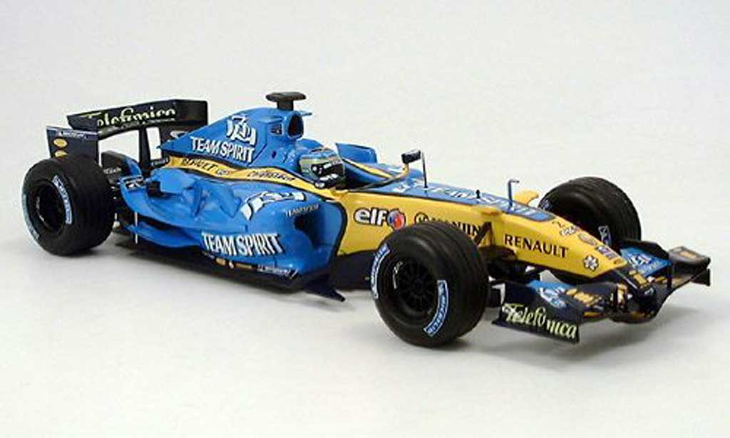 Renault F1 1/18 Hot Wheels r25 g.fisica 2006 miniature