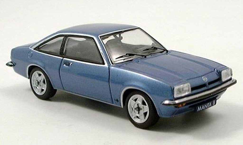 Opel Manta B 1/43 Schuco bleue miniature