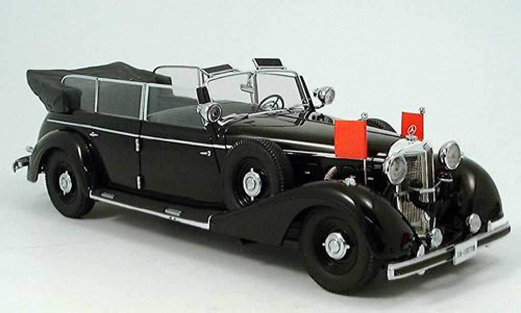Mercedes 770 1/18 Signature K Cabriolet noire 1938 miniature