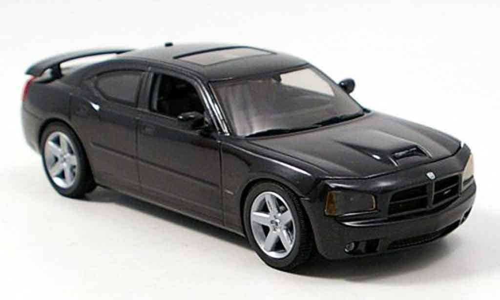 Dodge Charger 2006 1/43 Norev Charger SRT8 black diecast