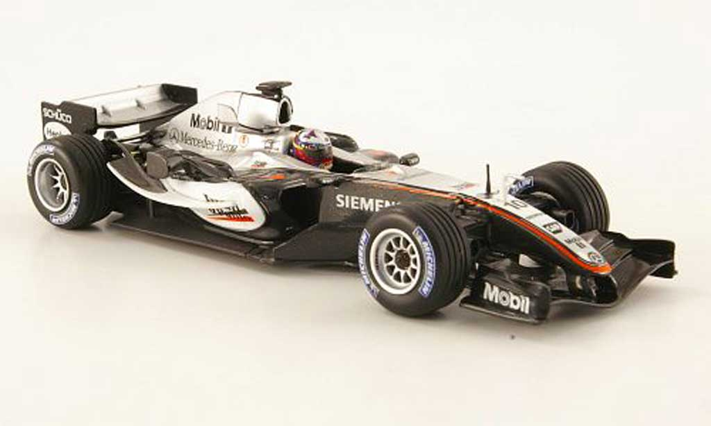 Mercedes F1 2005 1/43 Minichamps McLaren MP4-20 No.10 GP Grossbritannien miniature