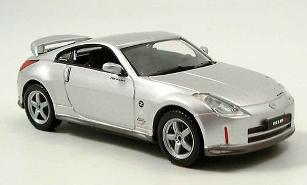 Nissan 350Z 1/43 J Collection Nismo Nismo grise metallisee miniature