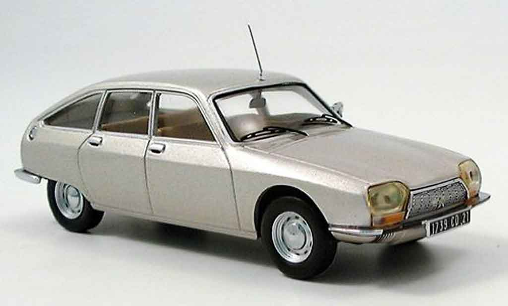 Citroen GS 1/43 IXO grise 1971 miniature