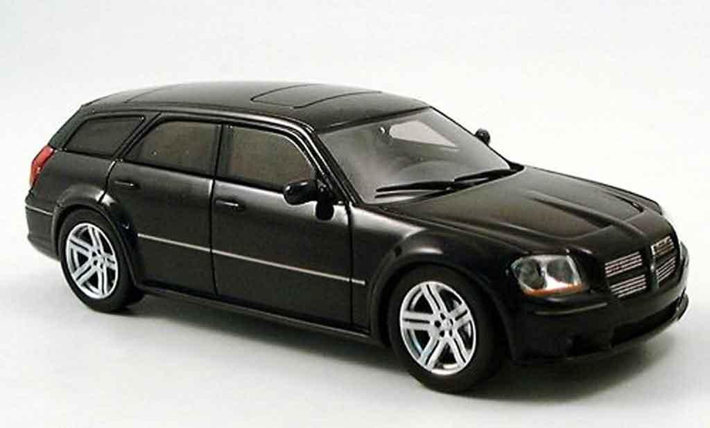 Dodge Magnum 2006 1/43 Spark SRT noire miniature