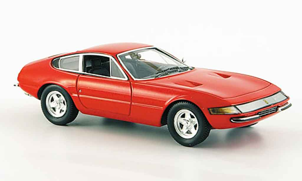 Ferrari 365 GTB/4 1/43 Red Line daytona rouge 1969 miniature
