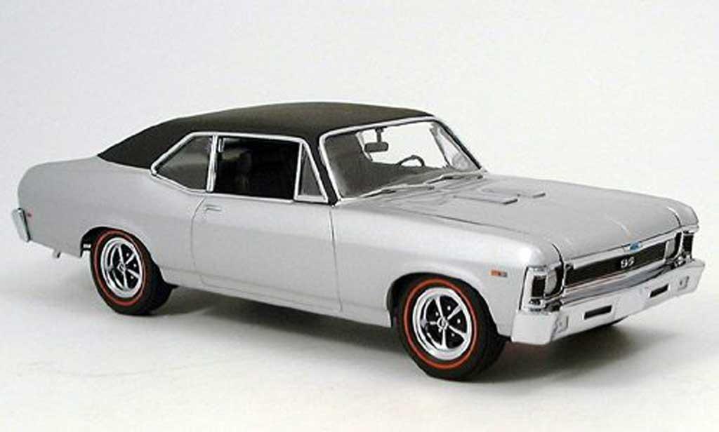 Chevrolet Nova 1969 1/18 GMP 396 ss grise clair metallized