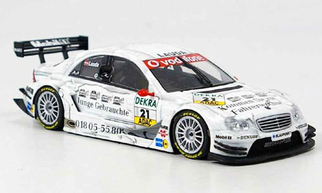 Mercedes Classe C 1/43 Minichamps DTM No.21 Team Persson DTM 2005 modellino in miniatura