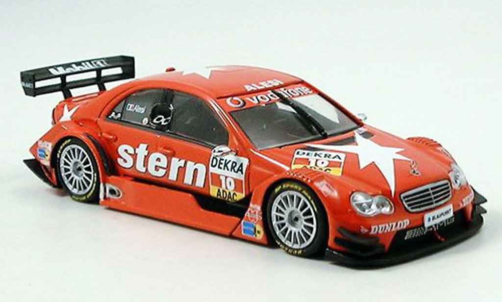 Mercedes Classe C 1/43 Minichamps DTM J.Alesi Team Persson 2006 miniature