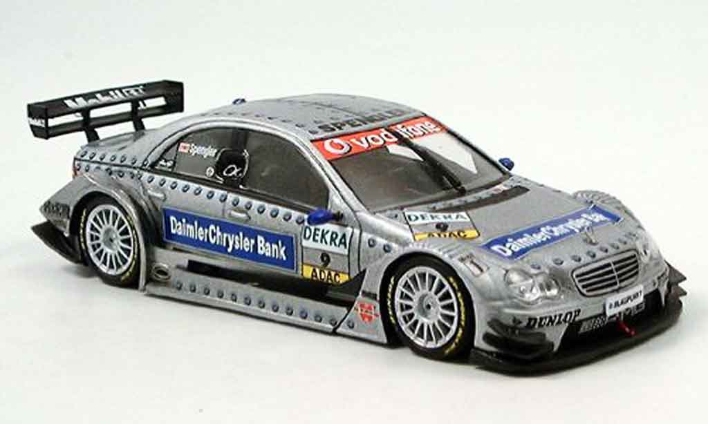 Mercedes Classe C 1/43 Minichamps DTM B.Sprengler Team DC Bank 2006 miniature