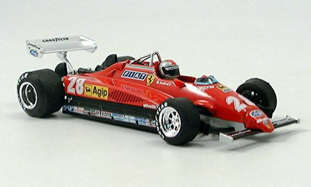 Ferrari 126 1982 1/43 Brumm C2 Turbo No.28 GP Italien Monza miniature