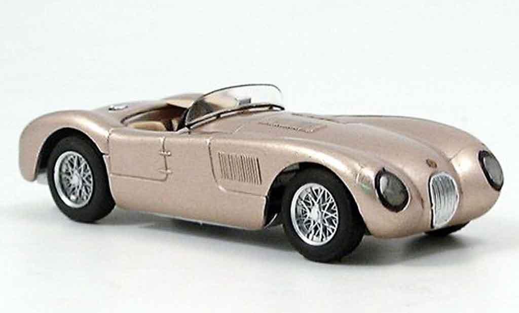 Jaguar C-Type 1/43 Brumm stradale bronze miniature
