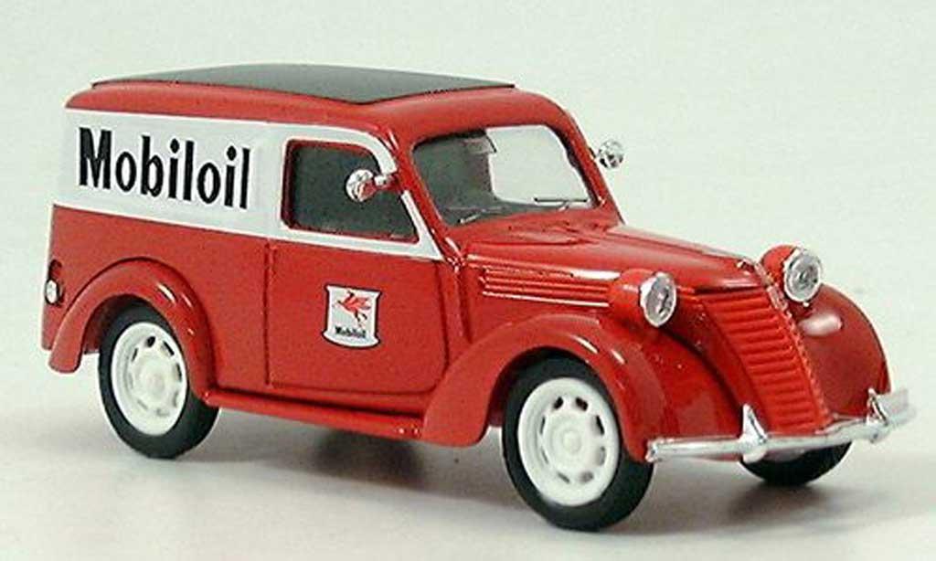 Fiat 1100 1/43 Brumm E Furgone Mobiloil 1956 diecast model cars