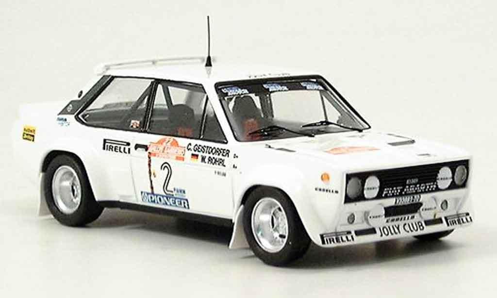Fiat 131 1/43 Trofeu Abarth Jolly Club San Remo Rohrl Geistdorfer 1980 diecast