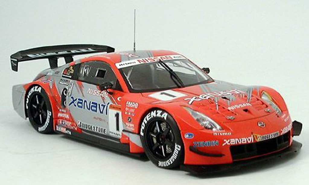 Nissan 350Z 1/18 Autoart JGTC fairlady no.1 xanavi sieger 2004 modellautos