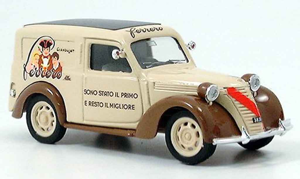 Fiat 1100 1950 1/43 Brumm Ferrero Lieferwagen miniature