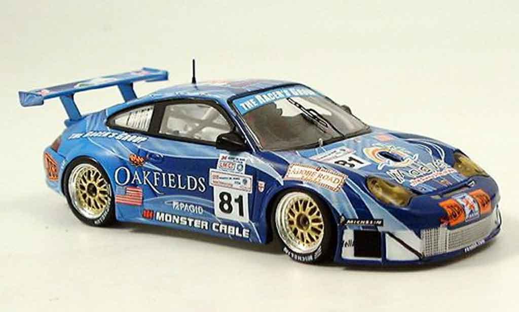 Porsche 996 GT3 RSR 1/43 Spark No.81 Le Mans 2004 diecast