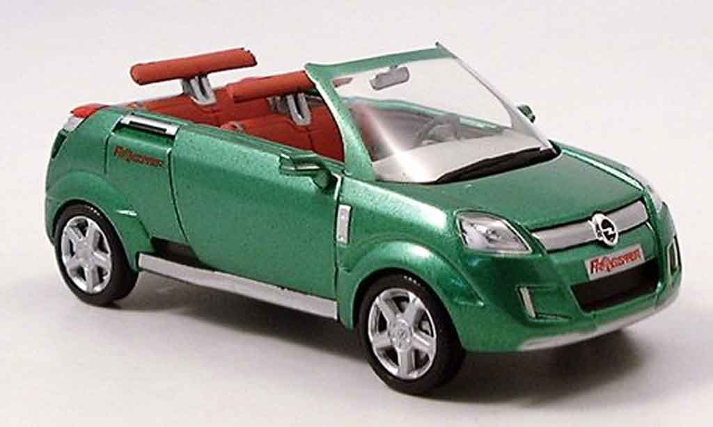 Opel Frogster 1/43 Norev verte autosalon genf 2001