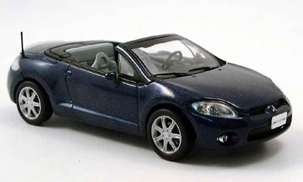 Mitsubishi Eclipse 1/43 Norev Spider  bleu 2006 diecast