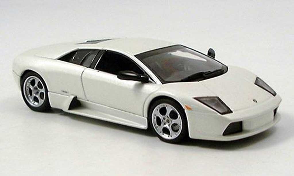 Lamborghini Murcielago 1/43 Autoart blanche 2001 miniature