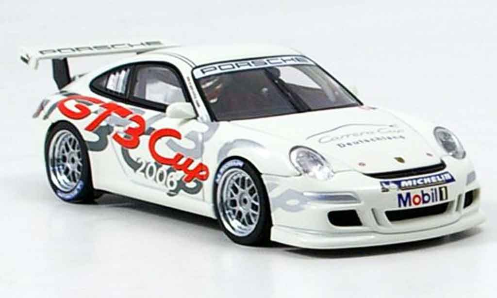 Porsche 997 GT3 CUP 1/43 Autoart GT3 Cup 2006 Promotion Car Deutschland diecast model cars