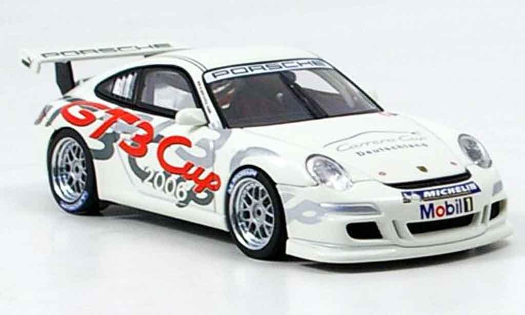 Porsche 997 GT3 CUP 1/43 Autoart GT3 Cup 2006 Promotion Car Deutschland modellautos