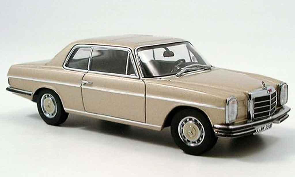 Mercedes 280 1/43 Autoart C Strichachter Coupe beige miniature
