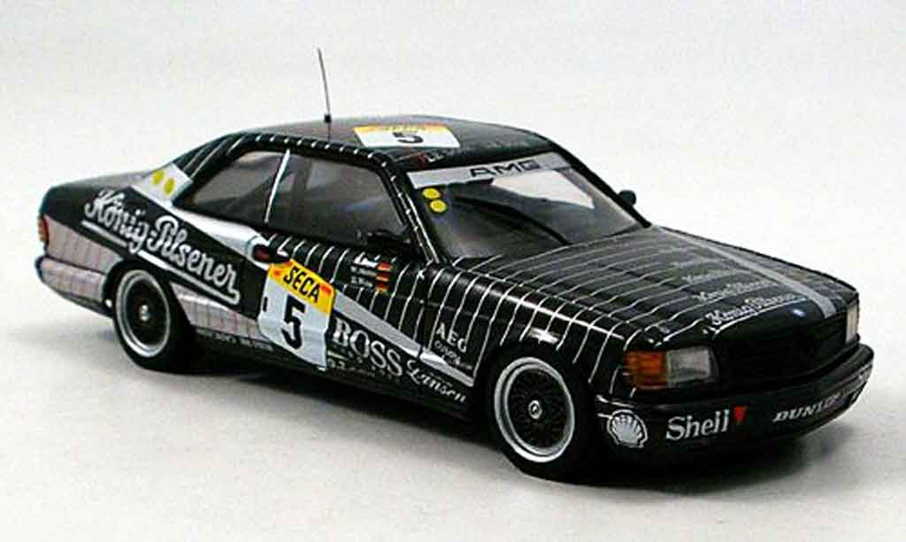 Mercedes 500 SEC 1/43 Autoart 500 SEC AMG No.5 24h Spa 1989 miniature
