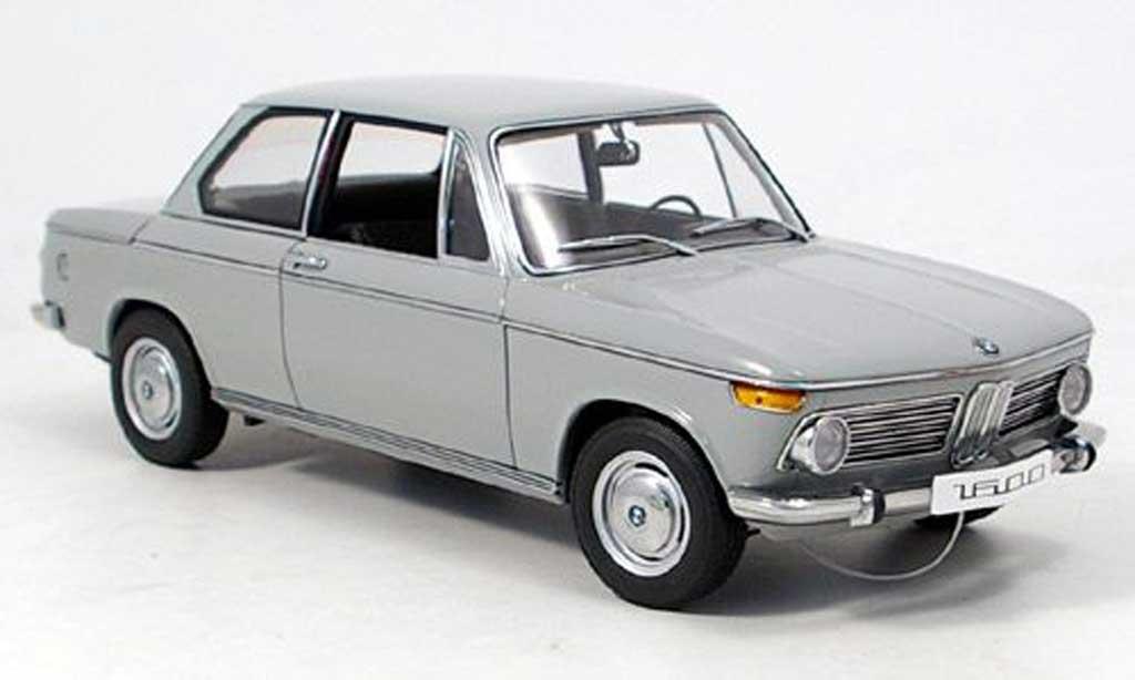 Bmw 1602 1/18 Autoart e10 grise 1971 miniature