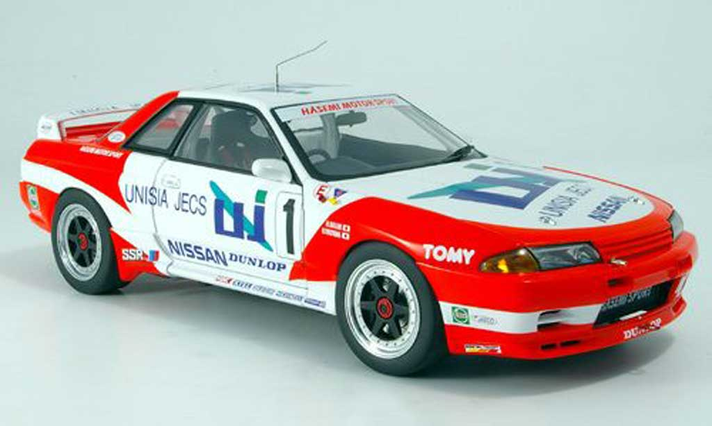 Nissan Skyline R32 1/18 Autoart gt-r no.1 unisia jecs 1993 miniature