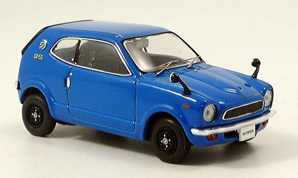 Honda Z 1970 1/43 Ebbro 1970 bleu