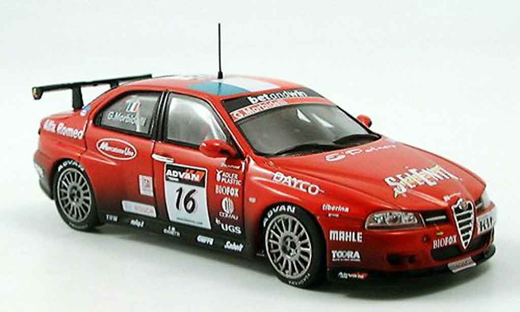 Alfa Romeo 156 GTA WTCC 1/43 Spark no.16 g.morbidelli wtcc 2006 diecast model cars